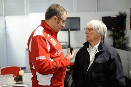 Ecclestone was unhappy with the actions of the sport's oldest team