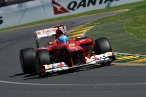 Australia's 2012 opener did not have the planned start for either driver