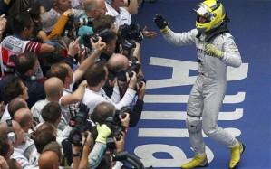 Rosberg took a comfortable win in China last season