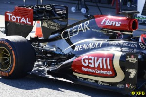 Lotus appear to have a better baseline than their car in 2012 had