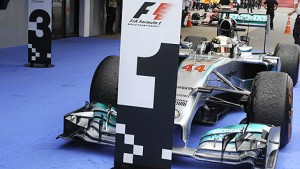 Mercedes have been arriving here more than anyone else this season
