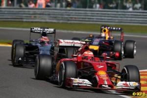 Fourth place is Raikkonen's highest finish of the season so far