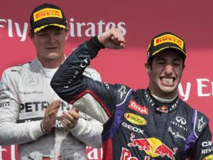 Red Bull's Smiling Assassin has won three races this season