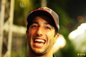 Ricciardo finished behind Vettel but stays ahead of him in the championship