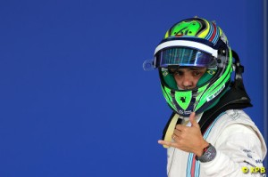 Massa out-raced his team-mate Valtteri Bottas