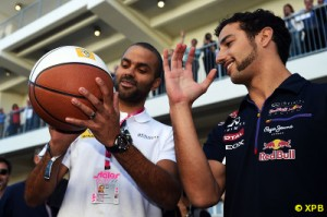 Ricciardo's number of podiums keeps rising